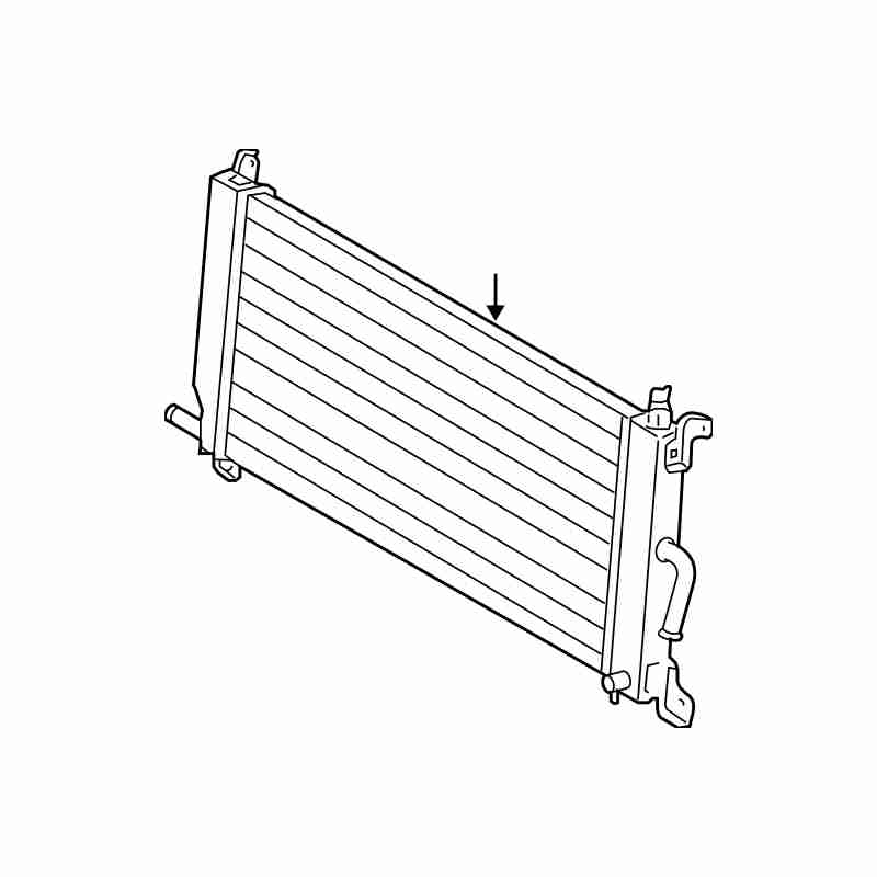 radiateur onduleur lexus rx 400h