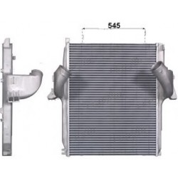 RADIATEUR AIR INTERCOOLER MERCEDES ACTROS MP2-MP3