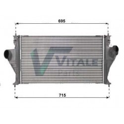 RADIATEUR AIR INTERCOOLER PEUGEOT 406 0384F7