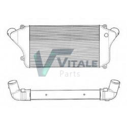 RADIATEUR AIR INTERCOOLER MITSUBISHI CANTER F84-F85