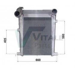 RADIATEUR AIR INTERCOOLER IVECO 8194145 93166947 IV816802