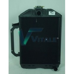 Radiateur eau pour Tracteur Renault Agri: R 551 /556 / R 651 / 652 / 681