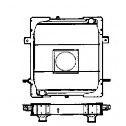 RADIATEUR EAU RENAULT RVI GB131BOM GF151BOM JP11 JP13 JP14BOM S90 S110 S130 S150 S170BOM